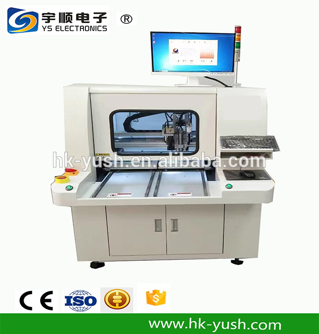 High Precision off -line , In-line CNC Pcb Router Automatic Pcb Router Machine YSVC-650,Buy Multi Blades Depaneling,Pcb Boards Depaneling,Led Pcb Cutting Machine Product on pcbcuttingmachine.com