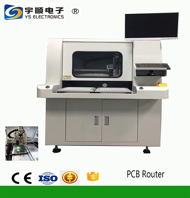 Online PCB Router Cutting precision +0.05mm-0.05mm-YSVC-650,Buy Multi Blades Depaneling,Pcb Boards Depaneling,Led Pcb Cutting Machine Product on pcbcuttingmachine.com