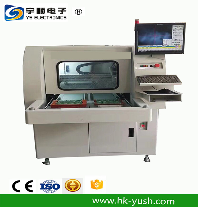Automatic PCBA Routing,PCBA Routing Machine-YSVC-650,Buy Multi Blades Depaneling,Pcb Boards Depaneling,Led Pcb Cutting Machine Product on pcbcuttingmachine.com