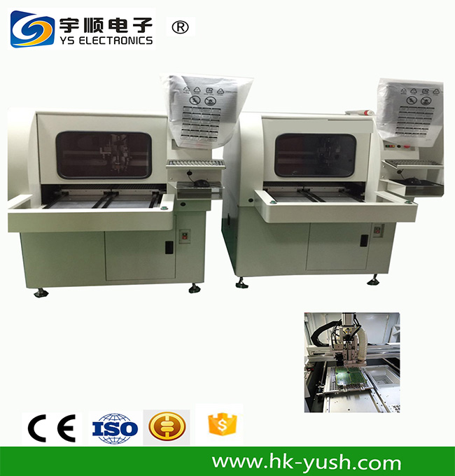 Online Automatic PCB Routing Machine-YSVC-650,Buy Multi Blades Depaneling,Pcb Boards Depaneling,Led Pcb Cutting Machine Product on pcbcuttingmachine.com