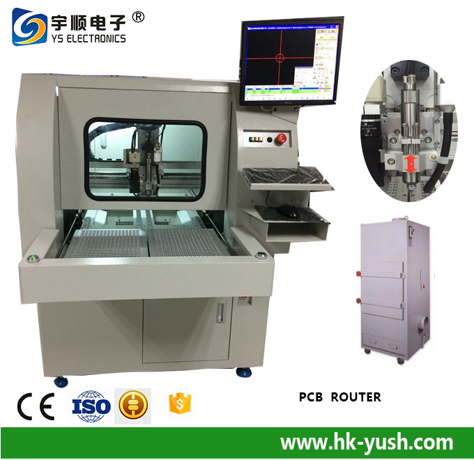 PCB Routing Equipment Our component height near to V-groove is 15 mm ,Pre scored v cut V-CUT PCB Separator