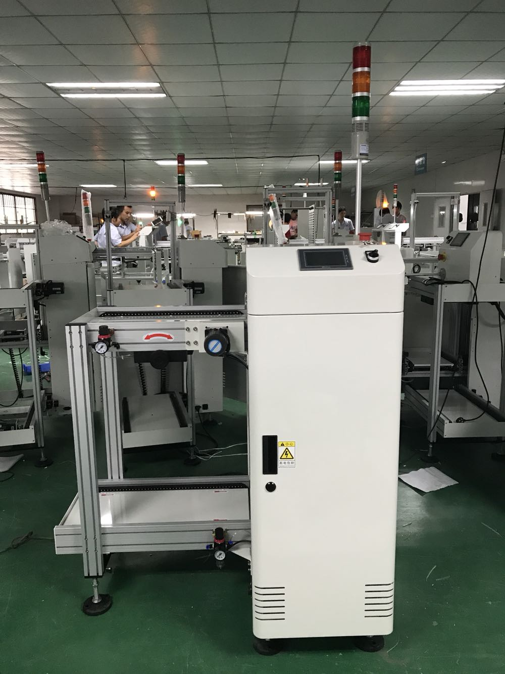 SMT automatic PCB loader machine_PCB size (50*50)~(350*250) PCB loader machine_ PCB loader machine Manufacturer